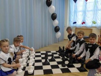 Детские шахматы до 31 см с полем (КШП-12)
