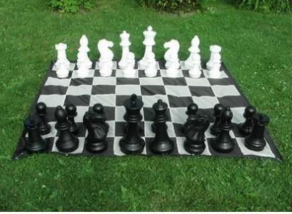 Поле нейлоновое шахматное 2,8х2,8м