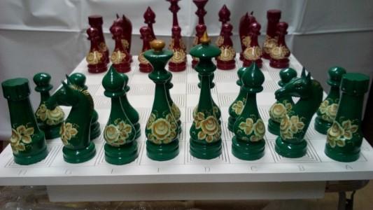 Шахматы деревянные сувенирные 25см