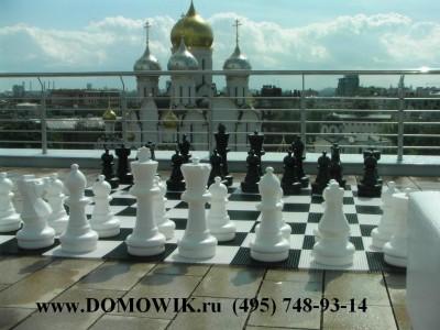 Напольные шахматы до 61 см (КШ-25)