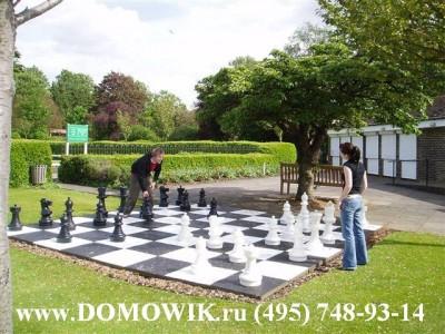 Шахматы с виниловым полем