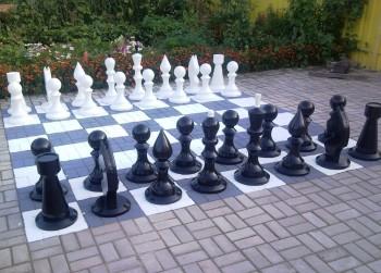 Шахматы деревянные 78 см