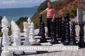 Большие шахматы до 92 см в аренду
