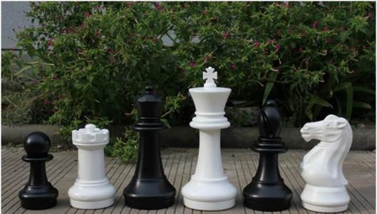 Шахматы в клубы высота до 41 см (КШ-16)