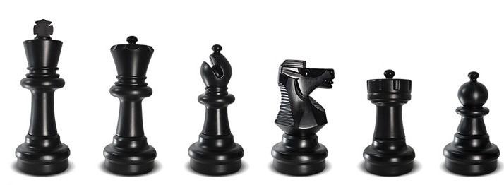 Шахматы в лагерь до 29 см без поля (КШ-12)