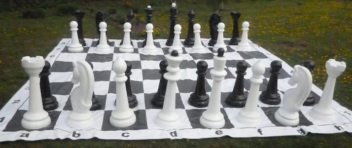 Шахматы гигантские до 120 см в аренду