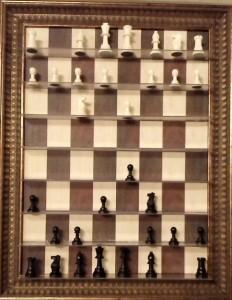 Шахматы на стене