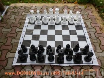 Шахматы в лагерь до 31 см без поля (КШ-12)