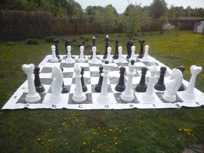 Шахматы садовые гигантские 120 см (КШ-50)