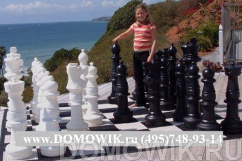 Уличные большие шахматы 92 см(КШ-36)