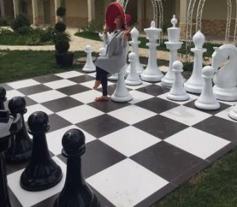 Большие шахматные фигуры 155см (КШ-62)