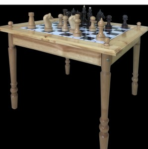 Стол шахматный двусторонний