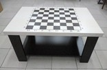 Шахматный стол 90х60 см