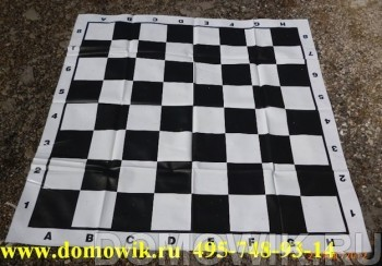 Поле виниловое под шашки  140х140 см