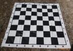 Поле шахматное виниловое 140х140 см