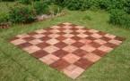 Поле под тиковые шахматы 2.4х2.4м
