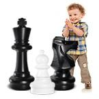Напольные уличные шахматы высота до 63 см