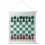 Шахматы демонстрационные настенные магнитные