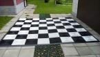 Шахматная доска сборная 3.3х3.3м
