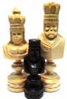 Шахматы  Цезарь 22 см с доской 80х80см