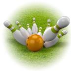 Правила игры в уличный боулинг с 6 кеглями